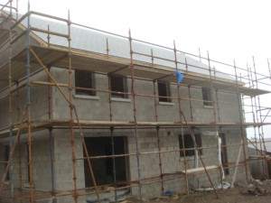 House under construction, Smarmore