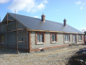 Bungalow in course of construction, Dunleer