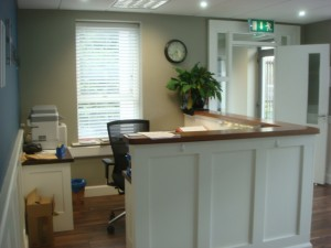 Office reception area, Ardee