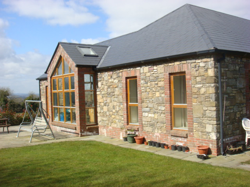 Residential a1 design for Stone faced houses