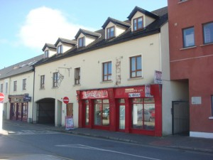 Retail units and apartments, Ardee